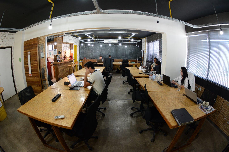 Use Coworking escritório compartilhado