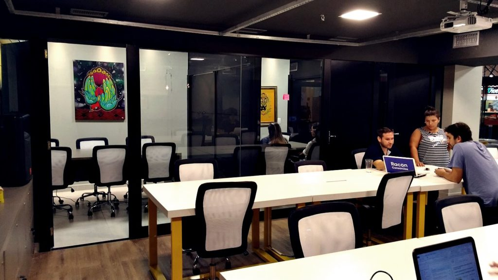 3 salas de reunião
