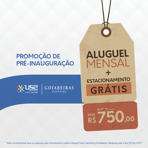 Use Goiabeiras Promoção